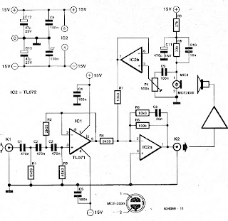 Circuit Diagram Knowledge: Active Bass Enhancer with