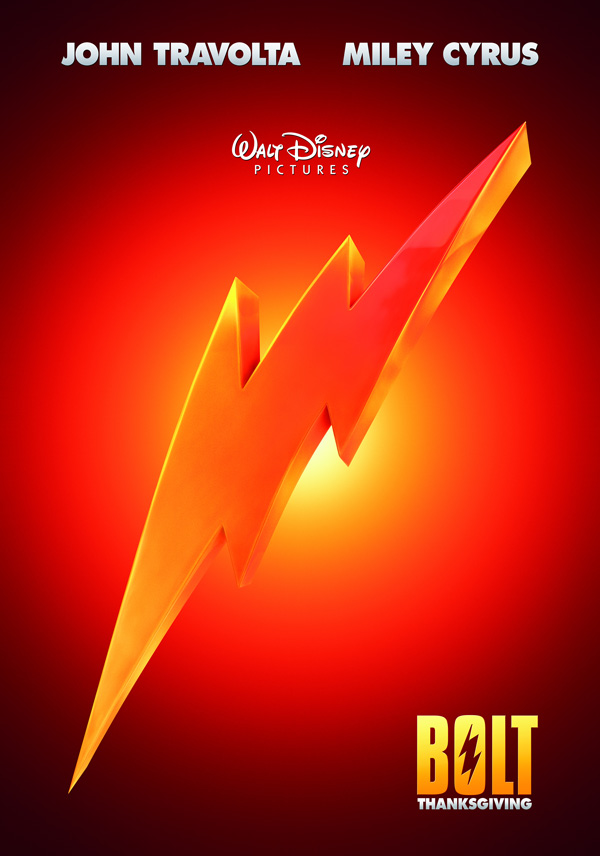 CARTOONS: Bolt movie posters and wallpaper