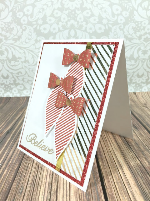 Cricut Artiste Believe Card