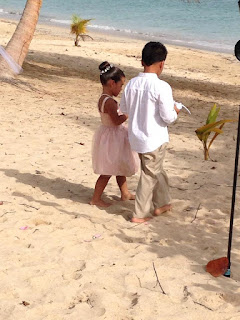 Destination Wedding Flower Girl and Ring Bearer