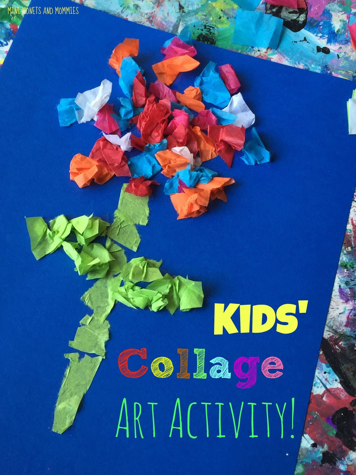 Tissue Paper This Is A Majorly Easy Childrens Art