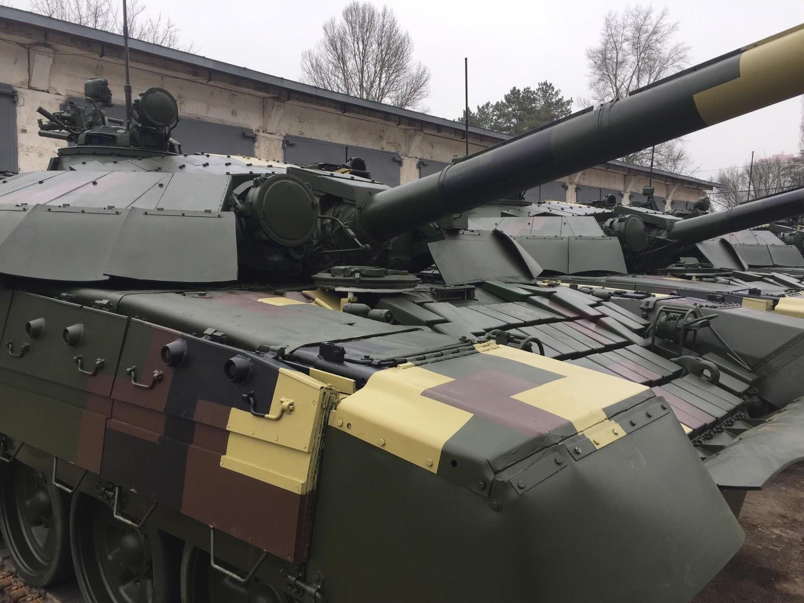 КБТЗ завершив передачу ЗСУ батальйону модернізованих Т-72
