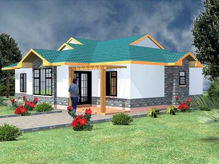 The bungalow house design is doubtless the most ordinary modern house design in the universe. Bungalow house plans are non-formal and well-suited for small narrow area. Find the inspiration you need to plan your ideal house design in the wide range of house types and styles with these 60 small bungalow house designs.