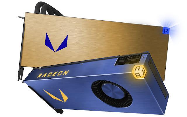 Performa Radeon Vega Frontier Edition