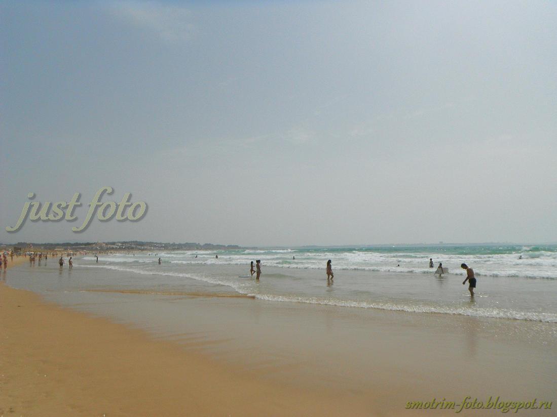 Пляж Мeia Praia Лагуш