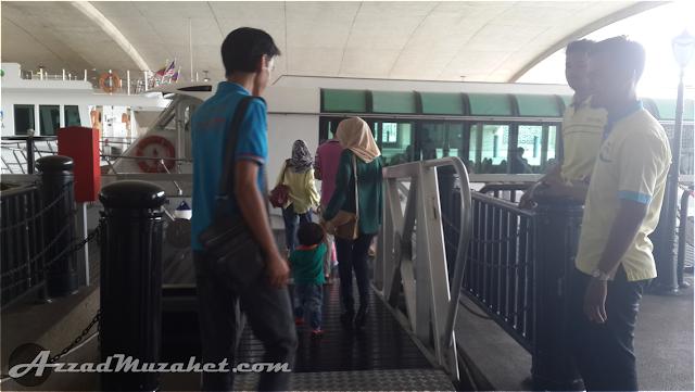 Cruise Tasik Putrajaya Boarding