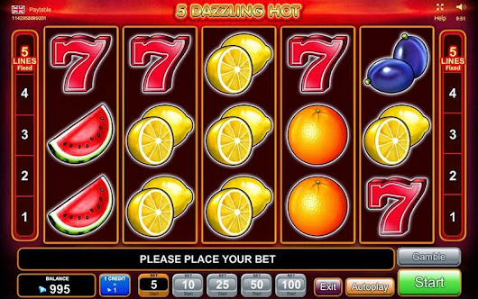 5 Dazzling Hot Slot Game