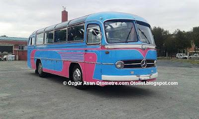 İstanbul'da kullanılan en eski otobüs.Armada Otel'in kadrolu elemanı!