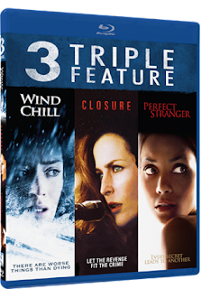 GIVEAWAY - Thriller Triple Feature: Wind Chill, Closure, Perfect Stranger, on Bluray