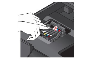 Cambiar cartuchos tinta Lexmark Impact S305