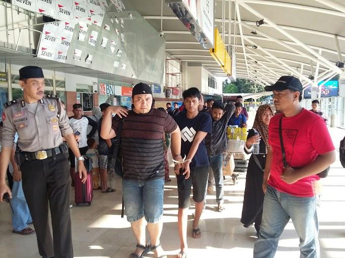 Resmob Polsek Makassar berhasil menangkap pelaku bobol Tembok Jeruji