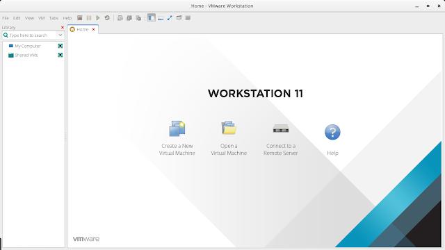 Instalar y desinstalar VMware Workstation 12.5 en Aprcity OS