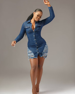 Cee-C Flaunts Really Fresh Thighs In New Photos