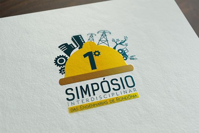 Logotipo: 1º Simpósio Interdisciplinar das Engenharias de Rondônia
