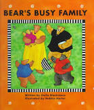 My family and Me, preschool theme, picture books, Bear's Busy Family (A Barefoot Board Book)