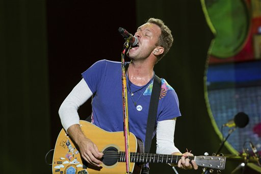 Chris Martin rinde homenaje a George Michael en Londres
