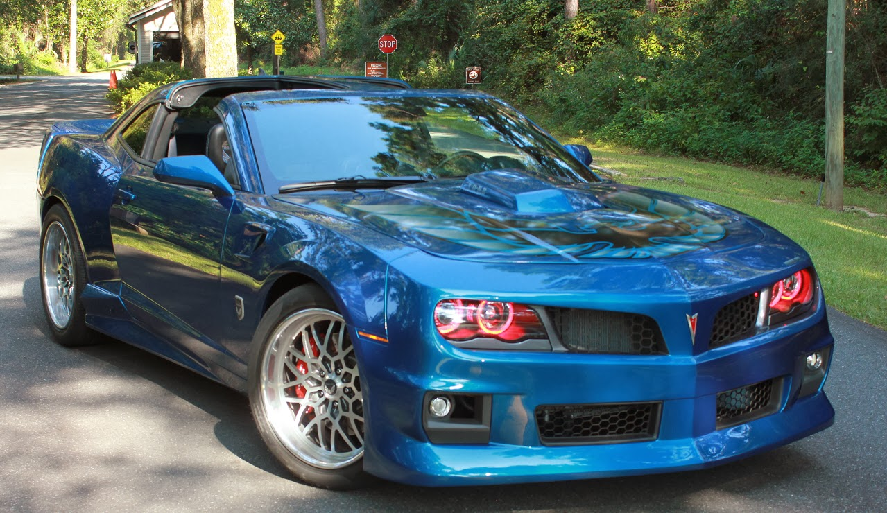 FirebirdPontiac.Com Pontiac shows a sportier look with 2017 Firebird concept