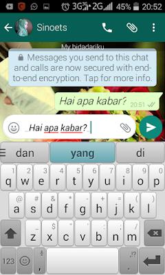 cara membuat huruf miring di whatsapp