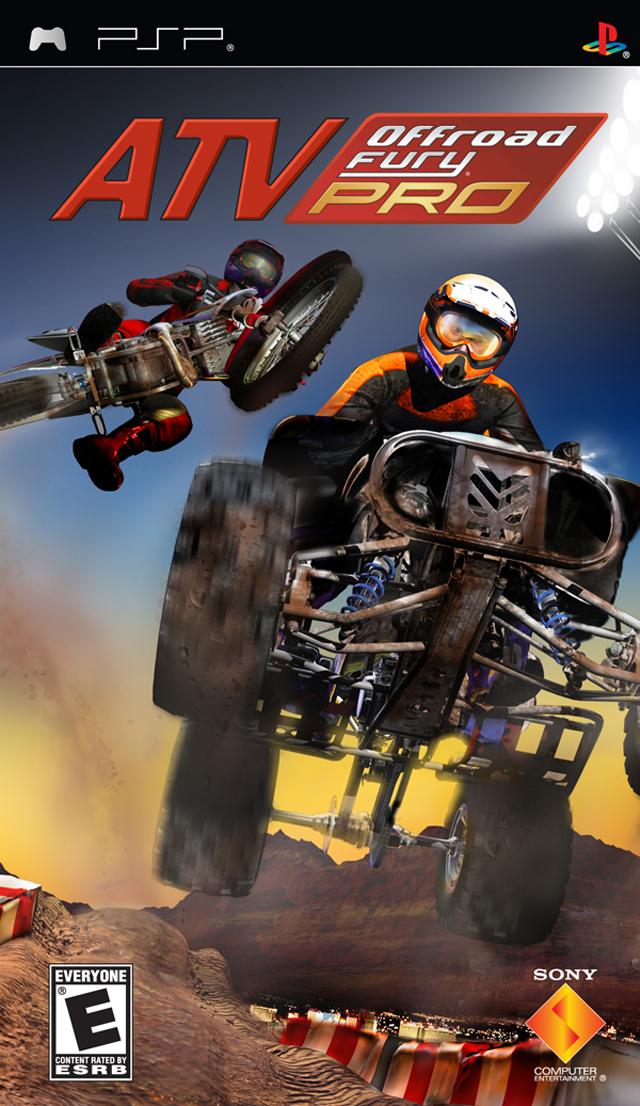 ATV Offroad Fury Pro - PSP - ISO Download