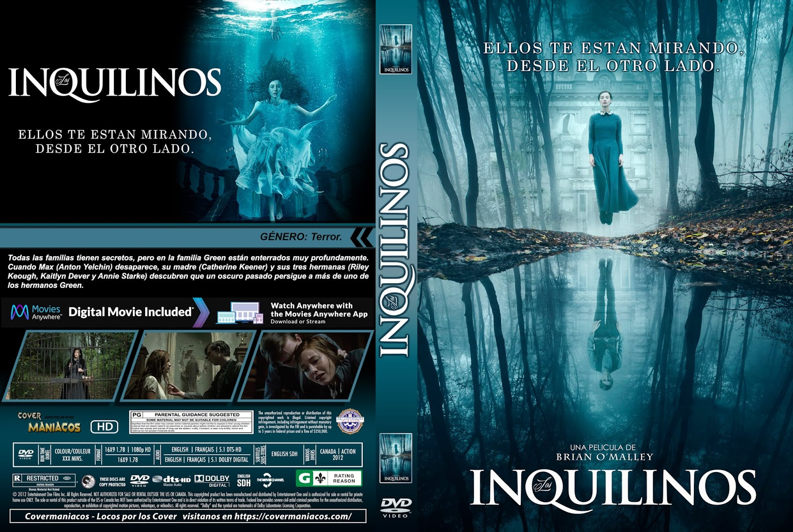 CARATULALOS INQUILINOS - THE LODGERS - 2017