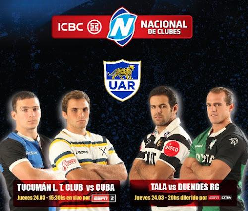 Comienzan el ICBC Nacional de Clubes