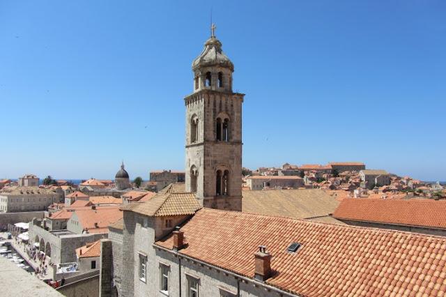 Dubrovnik, zicht vanaf de stadsmuur