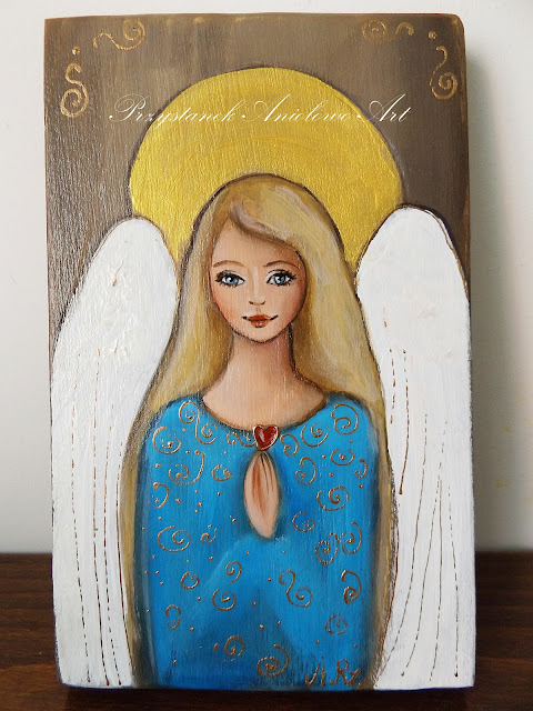 Anioły-małe obrazki