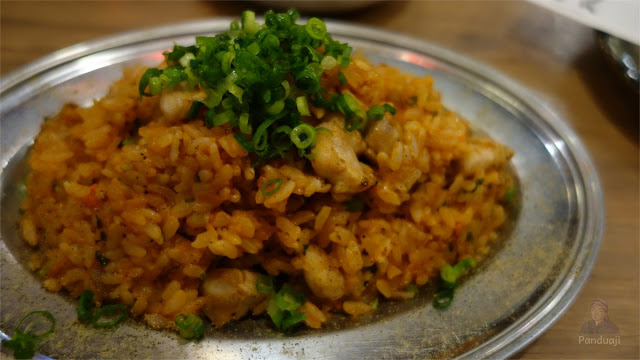 Nasi Goreng di salah satu restoran di Jepang