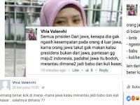 Rasis! Wanita Ini Hina dan Lecehkan Suku Jawa