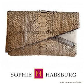 Sophie, Countess of Wessex style Sophie Habsburg GINNY Clutch