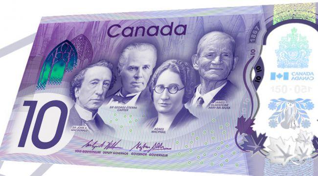 Ο κωδικός Konami θα βρίσκεται στο νέο $10 του Καναδά 1