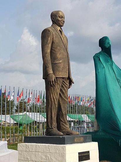 Jacob Zuma Statue in Imo State