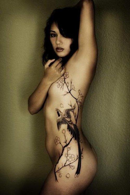 3aecf19ca Sexy Rib Tattoos For Girls 2011 | Styles Inspiration
