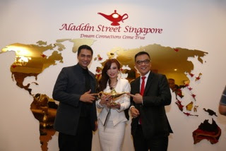 Source: Aladdin Group. From left: Aladdin Group Co-Founder Dato' Dr Sheikh Muszaphar Shukor Al Masriem, Dato' Dr Grace Kong, also an Aladdin Group Co-Founder, and Dato' Sri Desmond To.
