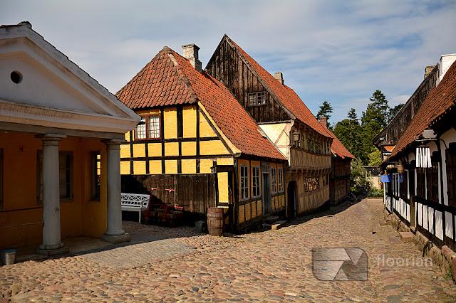 Den Gamle By - największa atrakcja turystyczna w Aarhus w duńskim Aarhus
