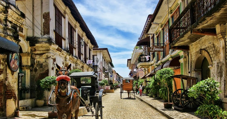 Vigan A Piece Of Spain In Asia Most Beautiful Places In