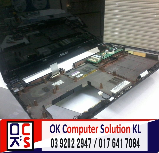 [SOLVED] SERVIS LAPTOP ASUS A42J | REPAIR LAPTOP DESA PANDAN 4