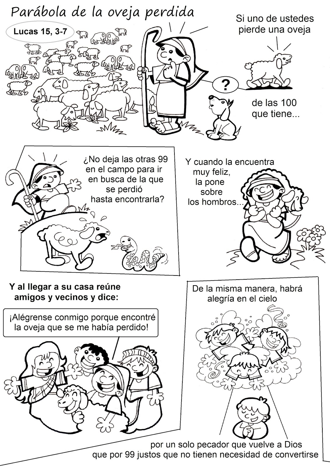 La Catequesis El Blog De Sandra Recursos Catequesis Parábola