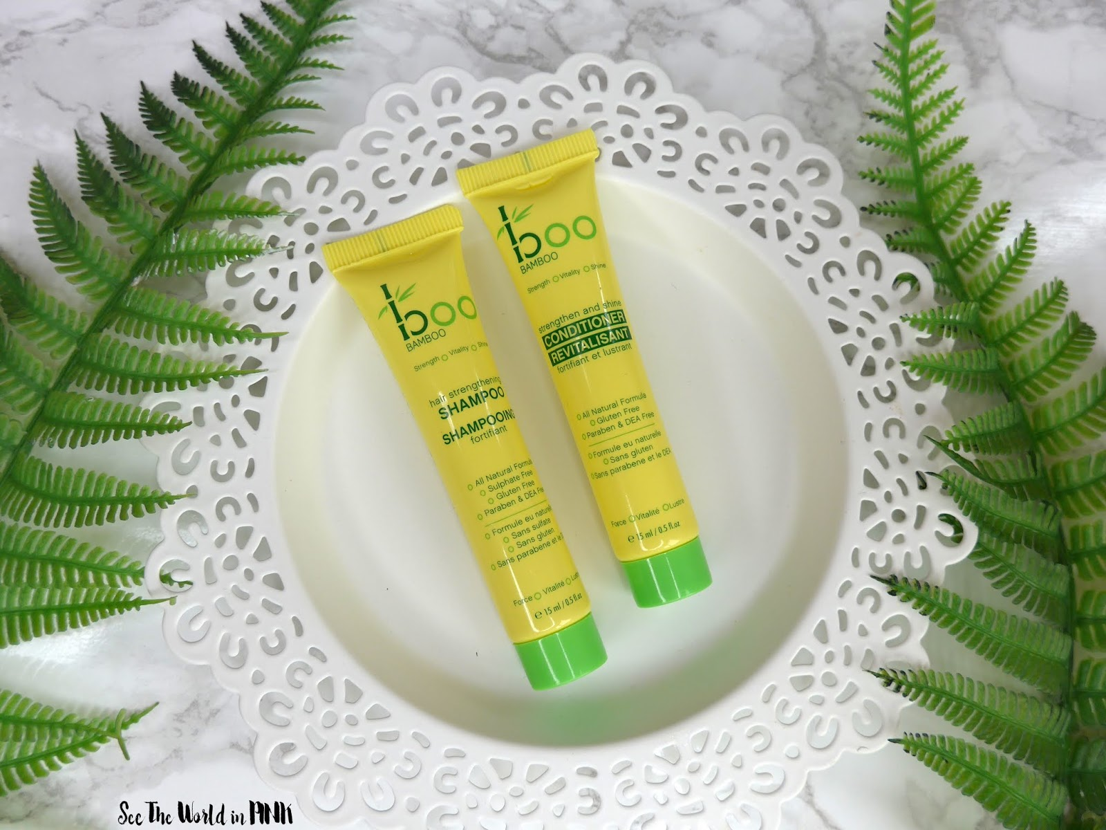 Boo Bamboo Strengthening Haircare