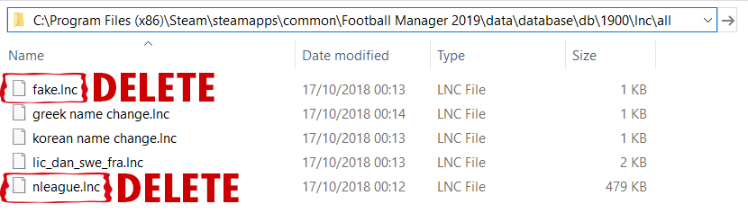 FM19 Real Names Fix German National Team