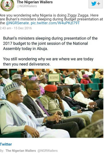 During Budget Presentation (Photos)