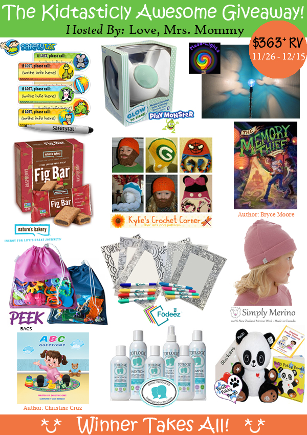 The Kidtasticly Awesome Giveaway