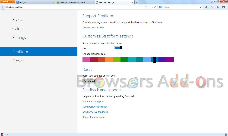 Stratiform_settings