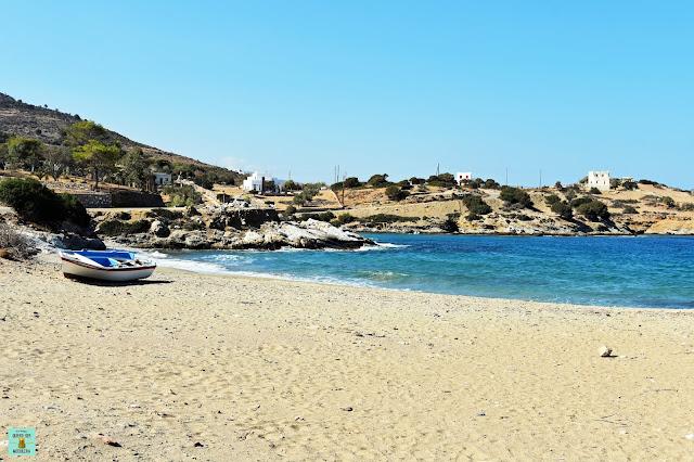 Klido Beach en Naxos