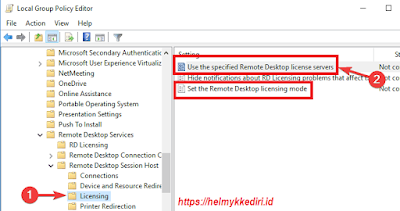 Set the Remote Desktop licensing mode