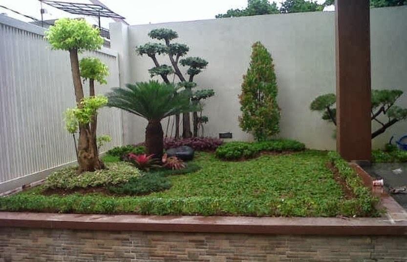 Taman Rumah Minimalis Taman Hias Rumah Minimalis