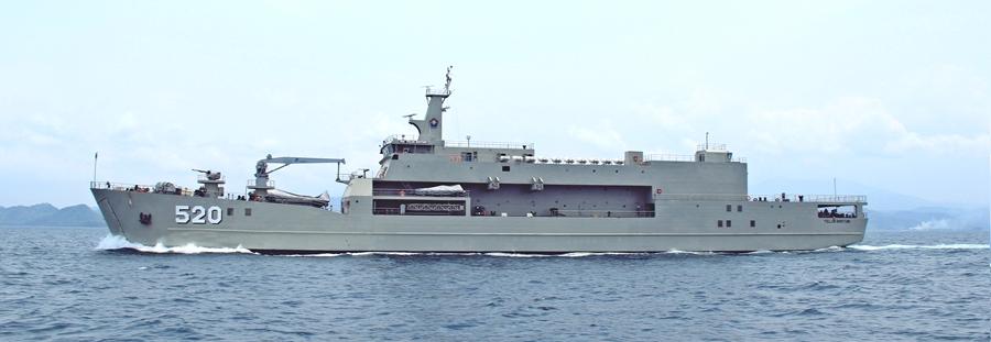 Індонезійська верф заклала кілі для двох десантних кораблів