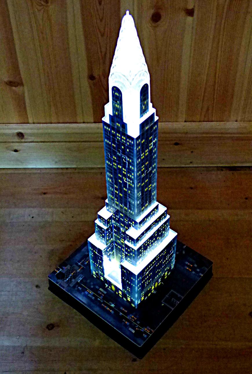Chez Maximka New York 3d Puzzle Buildings From Ravensburger
