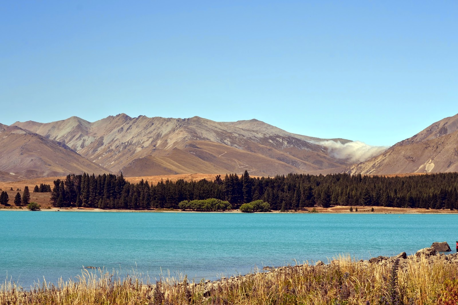 lake tekapo, New zealand, Lakes South island, canterbury