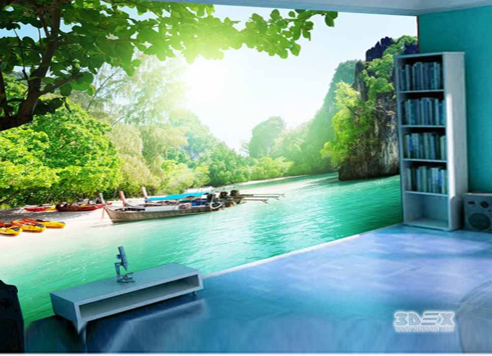 Amazing 3d Wallpaper For Living Room Bedroom Kitchen And